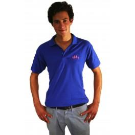 Polo Bleu manches courtes