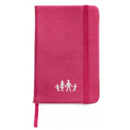 Notebook A5 blue or pink