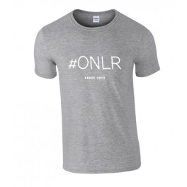 Grey T-shirt ONLR since 2012