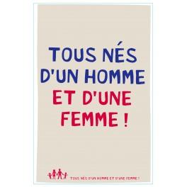 TOUS NES D UN HOMME ET D UNE FEMME